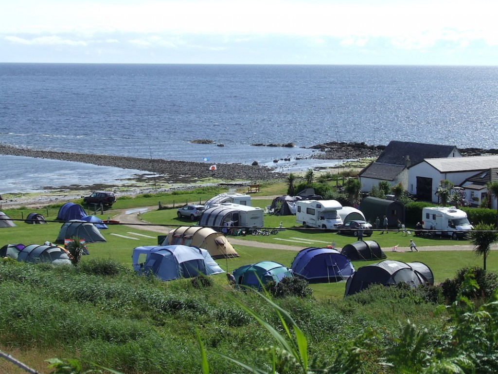 seal shore campsite