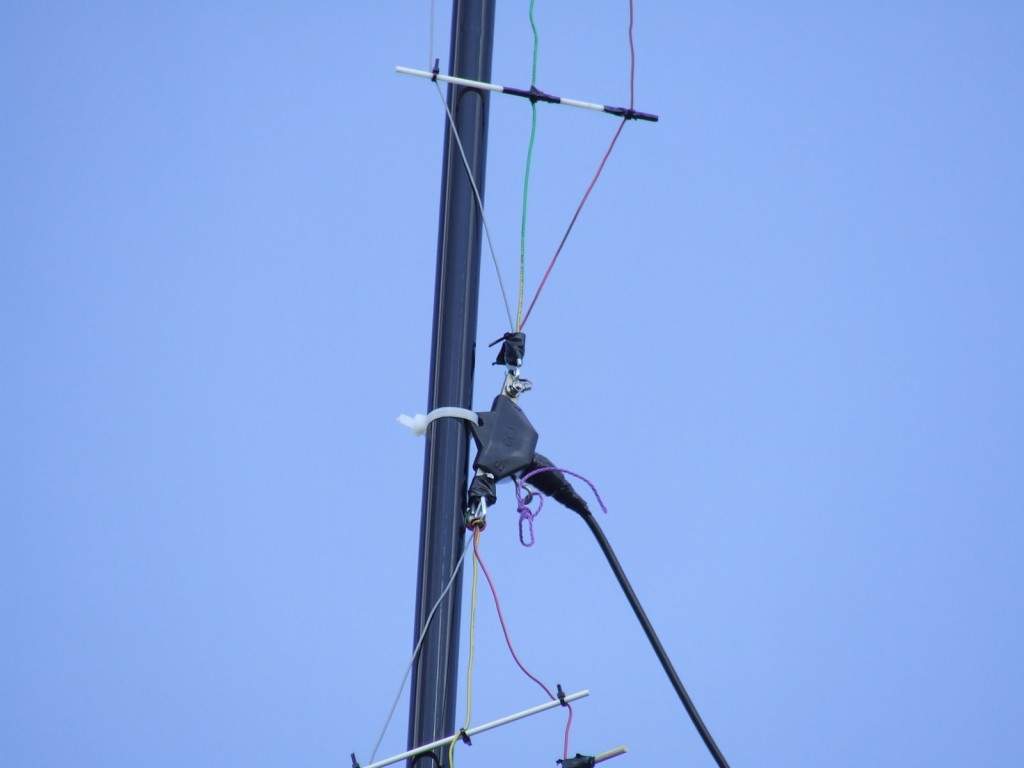vertical fan dipole feedpoint
